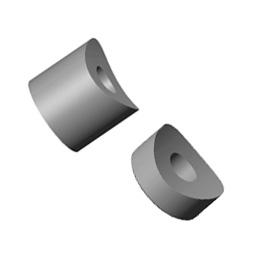 Inox distanceri za okrugle cijevi