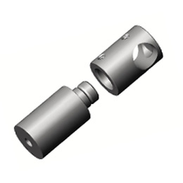Inox držači ispuna za plosnate profile (duži)
