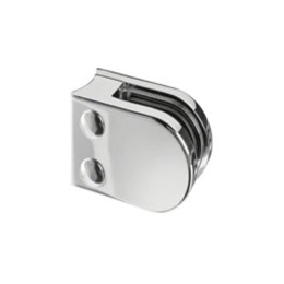 Inox držači stakla za okrugle profile, model 50x40
