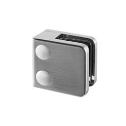 Inox držači stakla za plosnate profile, model 45x45
