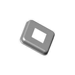 Inox kvadratne rozete 60x60
