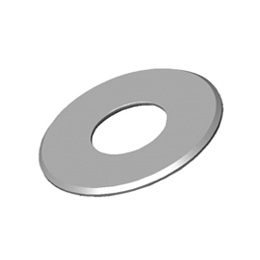 Inox okrugle pločice sa rupama