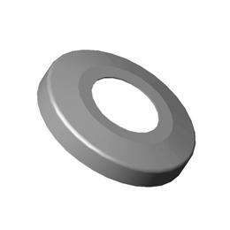 Inox okrugle rozete 110/d