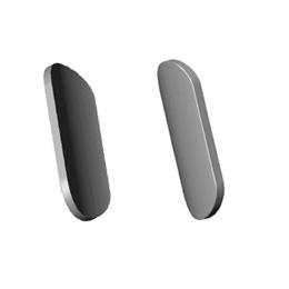 Inox ovalni podlošci (bez rupa)