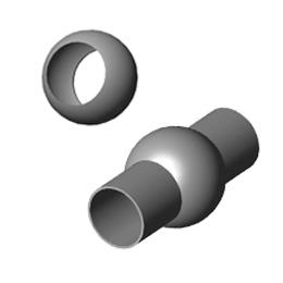 Inox prolazne kugle